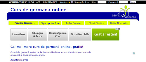 Limba germană (DeutschAkademie)