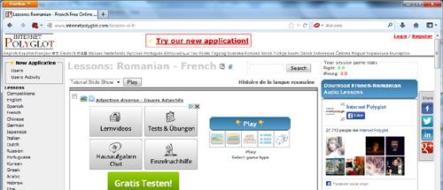 Tutoriale de limba franceză (Internet Polyglot)