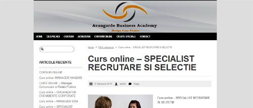 Specialist recrutare și selecție