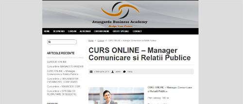 Manager Comunicare și Relații Publice