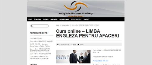 Limba engleză pentru afaceri