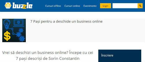 7 pași pentru a deschide un business online