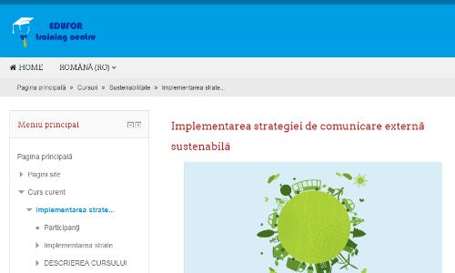 Comunicare externă sustenabilă