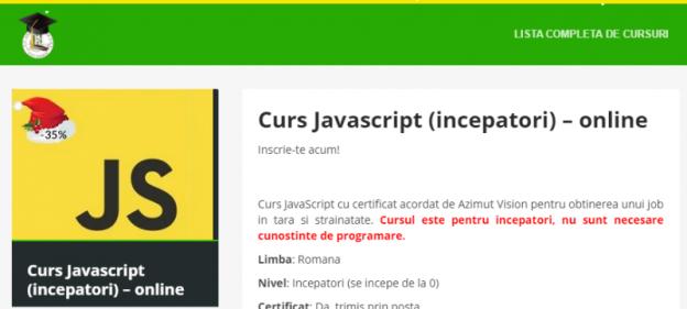 Javascript (începători)